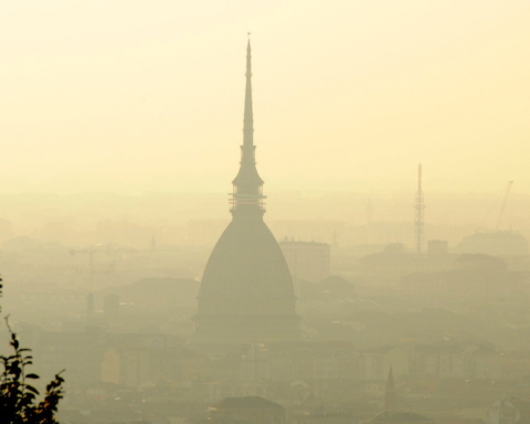 Aria di Torino Che aria tira #cheariatira
