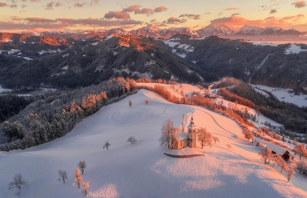 Slovenia neve cambiamento climatico