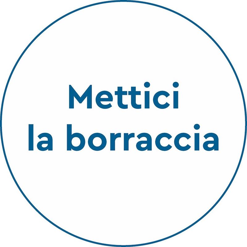 Mettici la borraccia!, il logo della campagna #lamiaborraccia