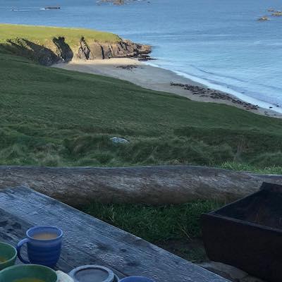 Great Blasket Island caffè con vista