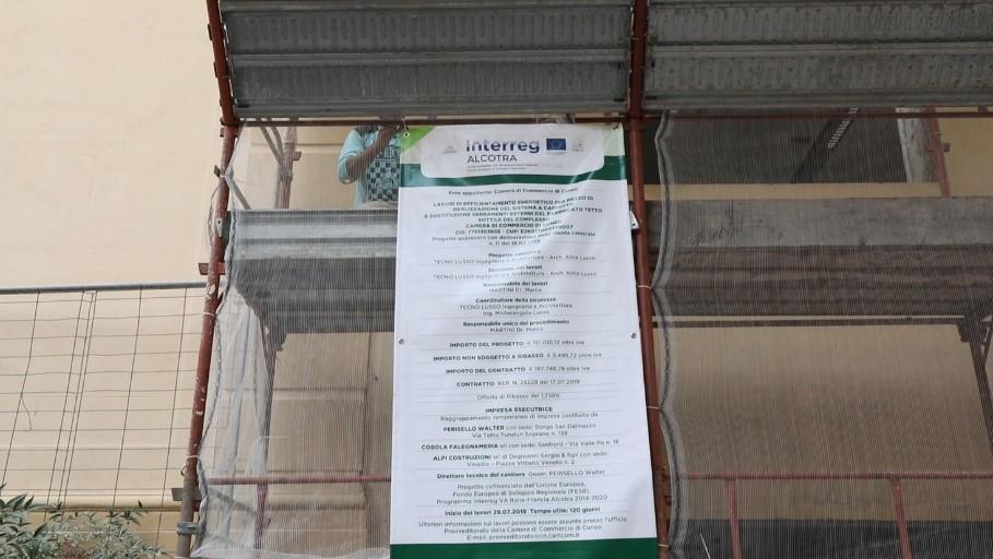 Progetto ECOBATI - Il cantiere pilota di Cuneo