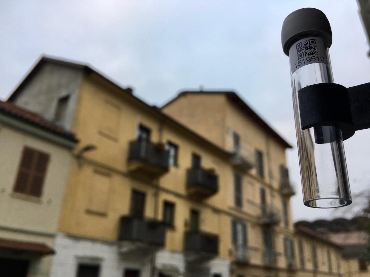 Provetta monitoraggio che aria tira aria di torino