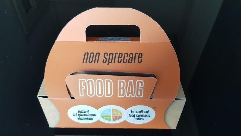 Food bag Festival del giornalismo alimentare 2020