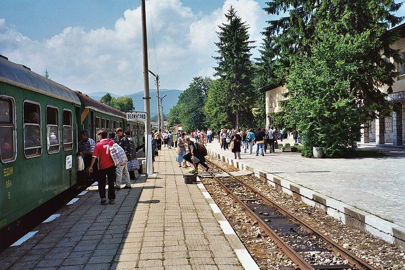 Bulgaria in treno