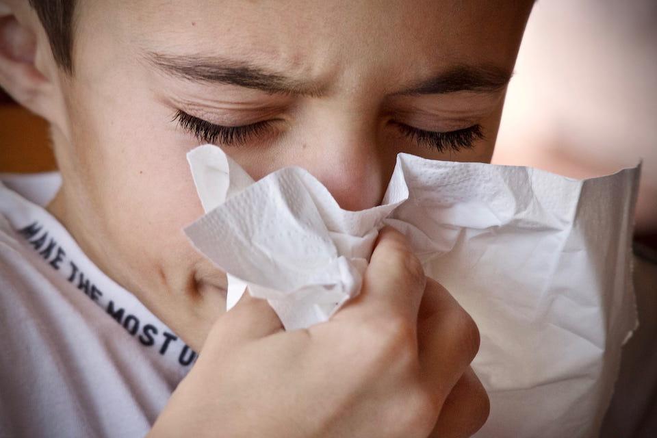 Coronavirus e rifiuti domestici fazzoletto