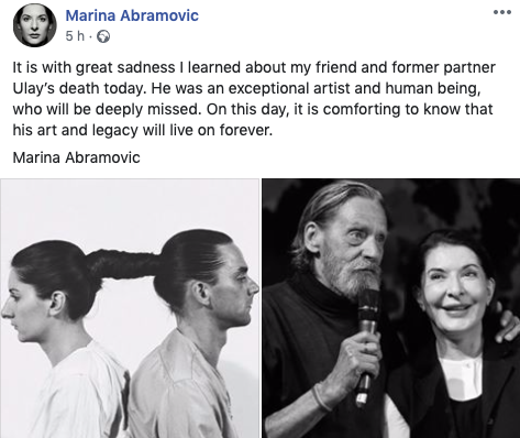 Ulay Marina Abramović