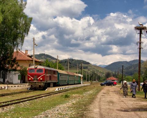 Bulgaria in Treno - Foto di Marco Carlone