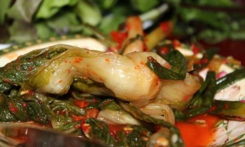 Kimchi: è una pietanza tradizionale delle cucina coreana, considerata un vero supercibo.