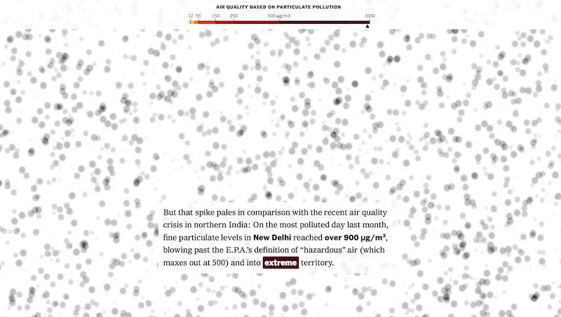 Inquinamento atmosferico nel mondo