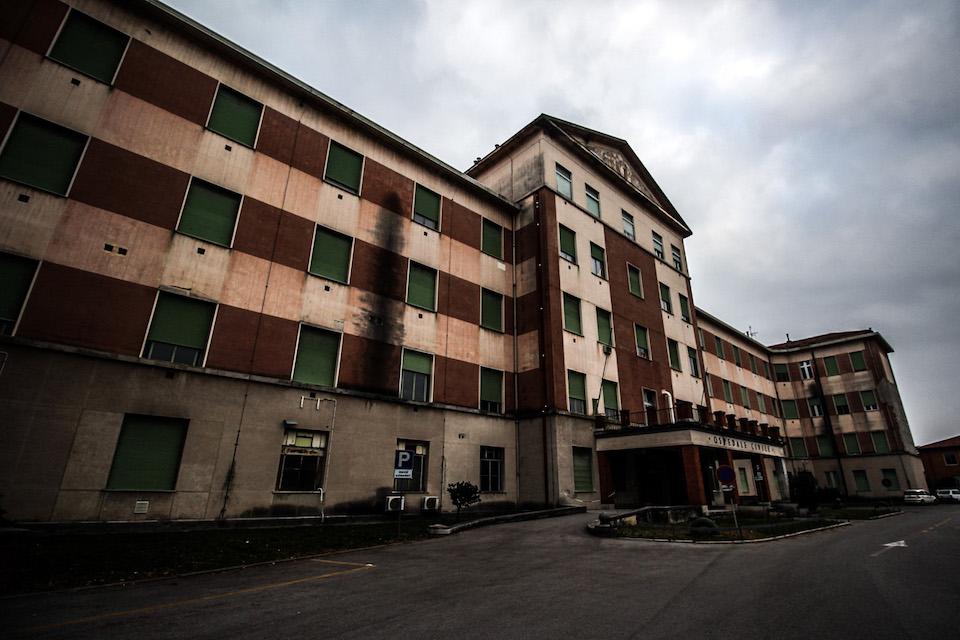 Ospedali abbandonati: edificio in Friuli (foto di David Calloni)