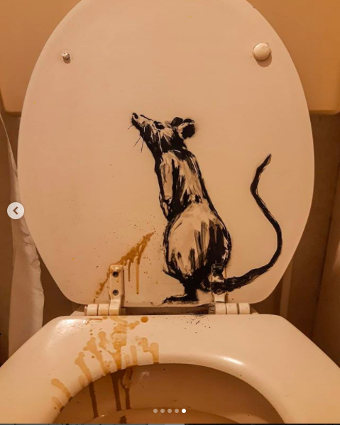 Banksy in smart working