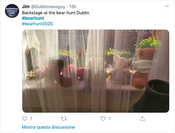 Bear hunt Dublino