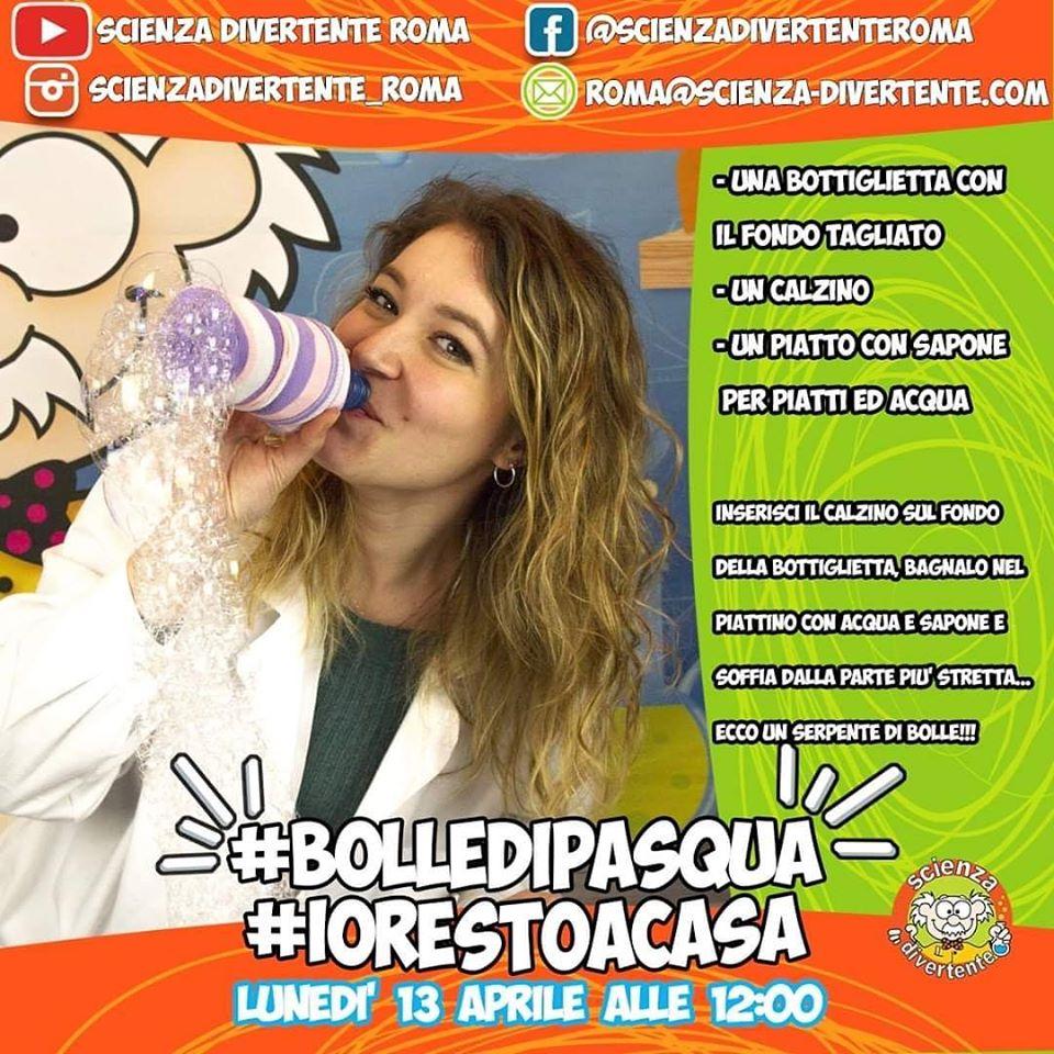 flash mob di pasquetta #bolledipasqua bolle di sapone
