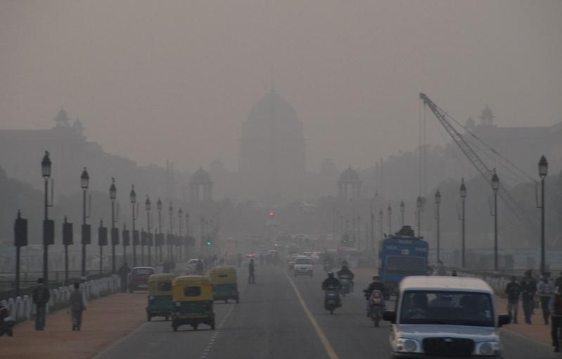 inquinamento atmosferico nel mondo new delhi Flickr