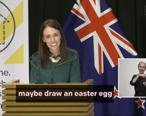 Nuova Zelanda NZEggHunt Coniglietto pasquale