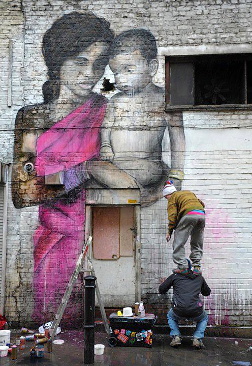 Festa della Mamma murales