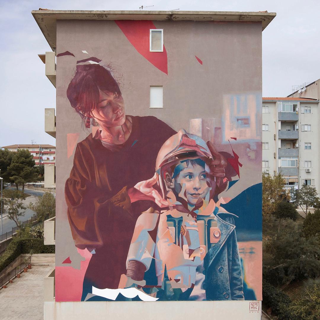 Preparato. Artisti: TelmoMiel. Location: Ragusa, Italia (foto Instagram @telmomiel)