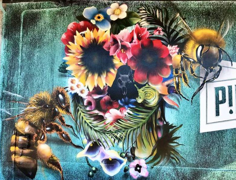 Giornata mondiale delle api murales