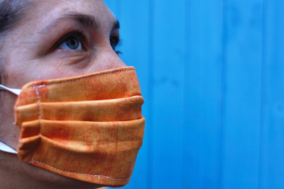 mascherina con tasca per filtro tutorial