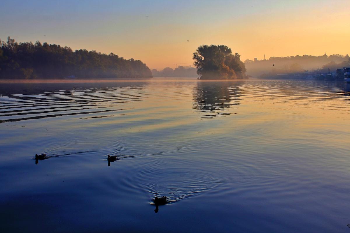 Emergenza climatica nei Balcani Danubio foto di Francesco Rasero