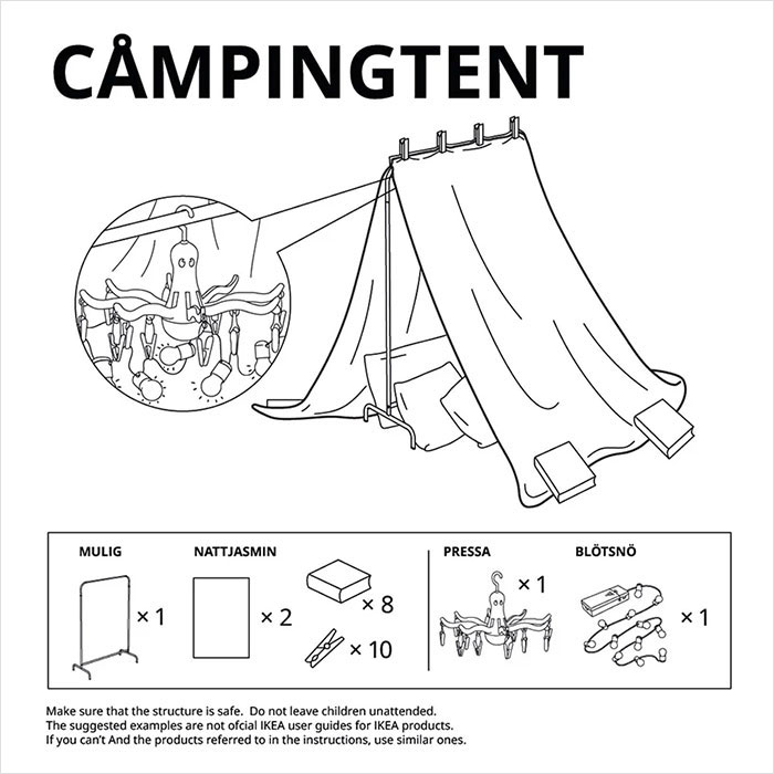 Ikea per i bambini costretti in casa