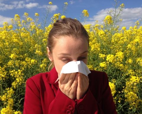 pollini e allergie