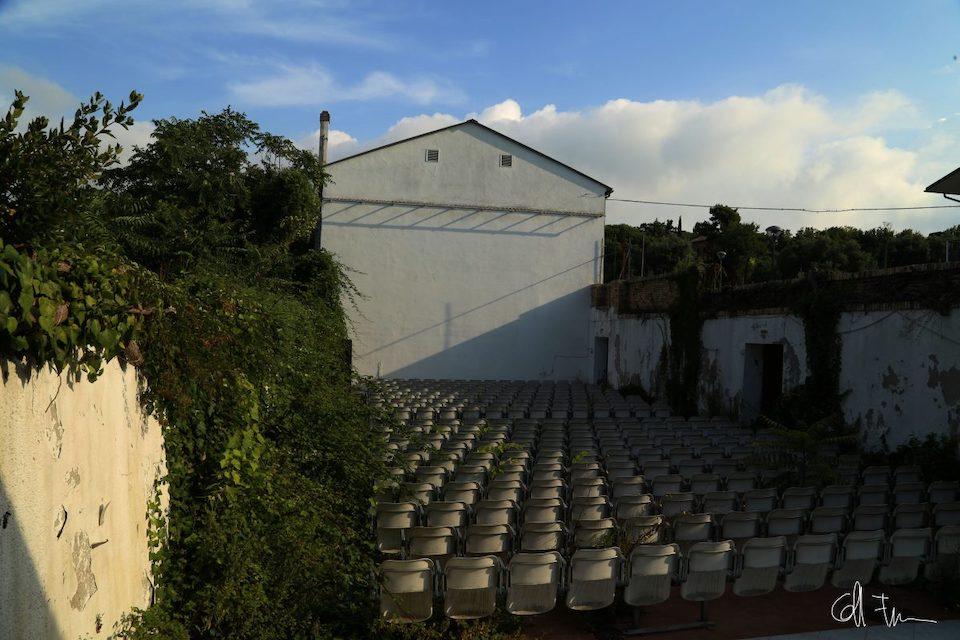 Cinema e teatri abbandonati: cinema all'aperto nelle Marche (foto di Francesco Coppari)