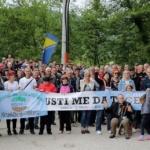 Dighe in Bosnia Protest on Neretvica (c) Svjetlana Panic