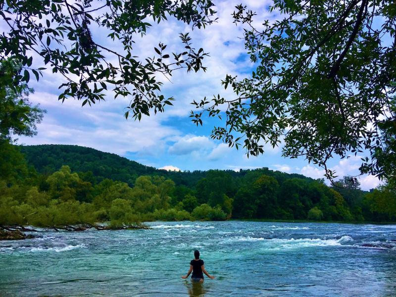 Dighe in Bosnia fiume Una ph Francesco Rasero