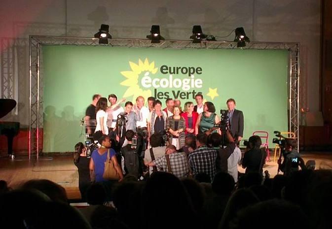 Elezioni in Francia 2020 Verts EELV storico
