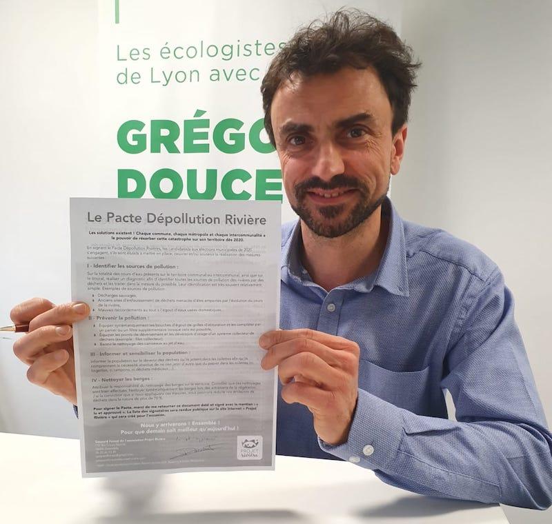 Elezioni in Francia 2020 Verts Lione
