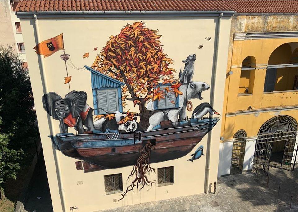 Giornata mondiale dell'Ambiente 2020 murales