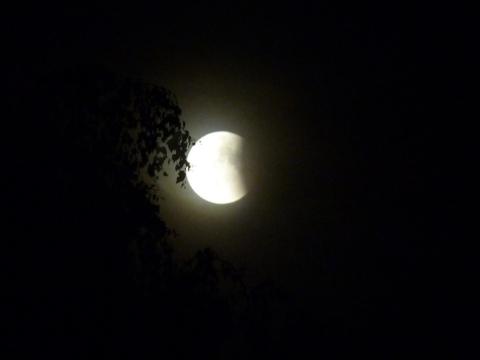 eclissi lunare di luglio