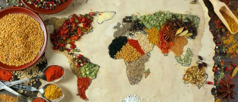 sustainable gastronomy day mappamondo