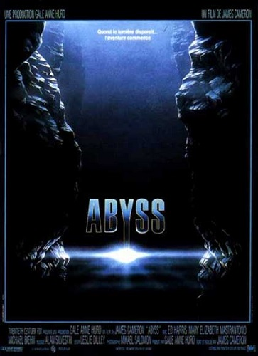 The Abyss, il poster