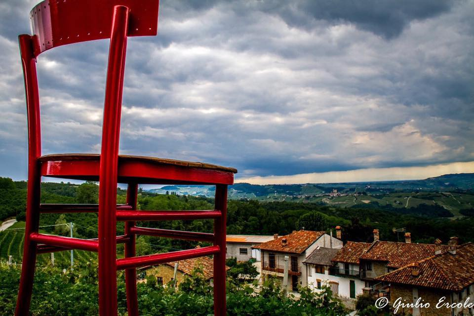 Sedie Giganti in Piemonte