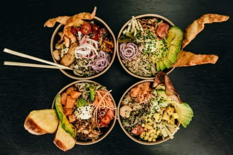 pokè bowl vegetariana