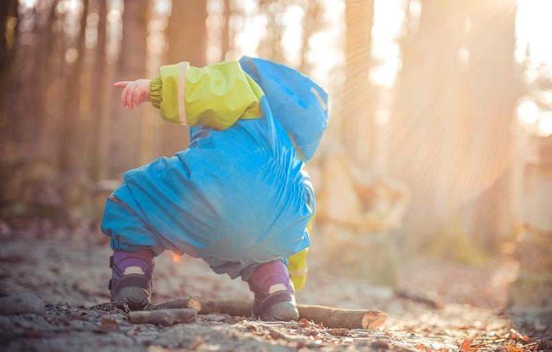 outdoor education bambino bosco