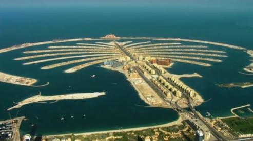 Sand Wars, Palm Islands, le isole artificiali antistanti Dubai