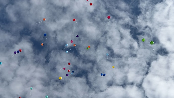 Capodanno palloncini