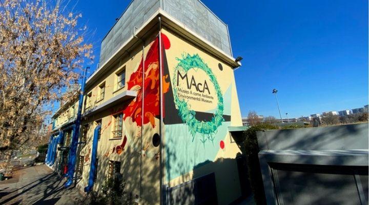 Arte urbana al MAcA di Torino