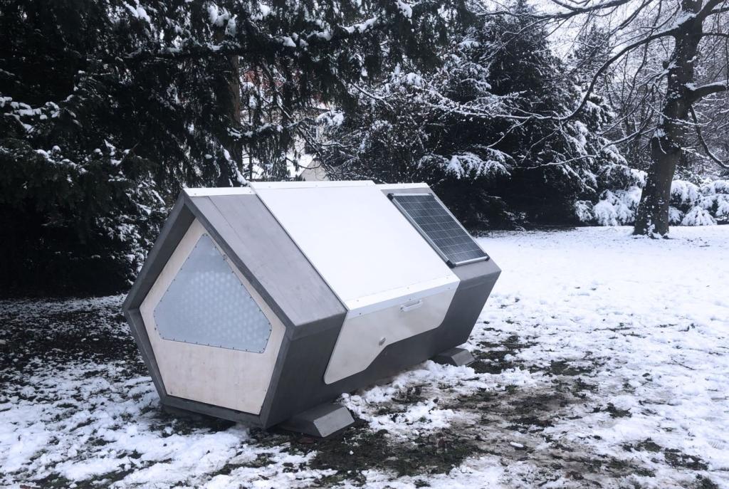 capsule antigelo per i senza tetto