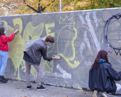 Murales mangia smog Torino