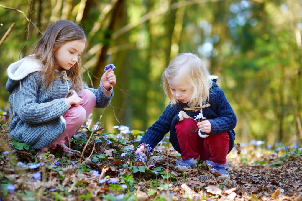 la natura rafforza il sistema immunitario dei bambini