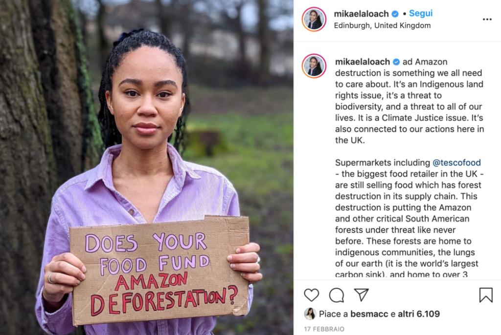 8 marzo sostenibile Mikaela Loach