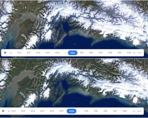 Google Earth Timelapse: come è cambiata la Terra dal 1984