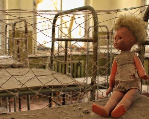 Disastro di Chernobyl nucleare atomico