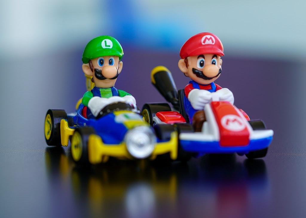 Mario Kart videogioco povertà