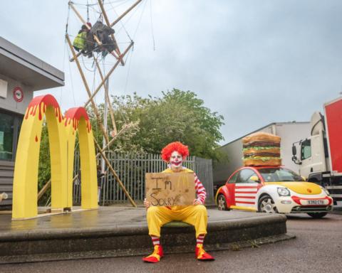Animal Rebellion vs McDonald's