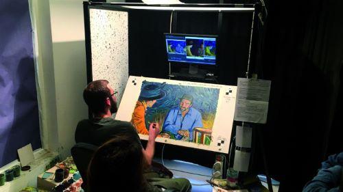 Loving Vincent, pittore al lavoro